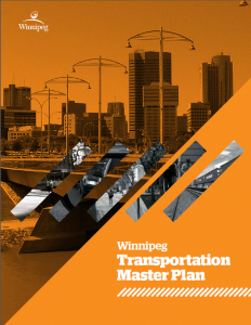 The Winnipeg Transportation Master Plan called for a bicycle strategy