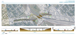 Rehabilitation of the Pembina Underpass should brought into line with the schedule adopted in the Master Transportation Plan (completion by 2016), and should be coordinated with phase II of the southwest rapid transit corridor.