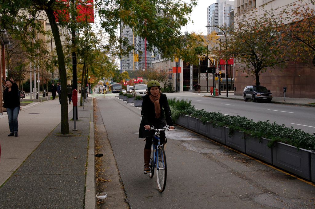 Dpwntown Protected Bike Lanes Engagement Opportunities