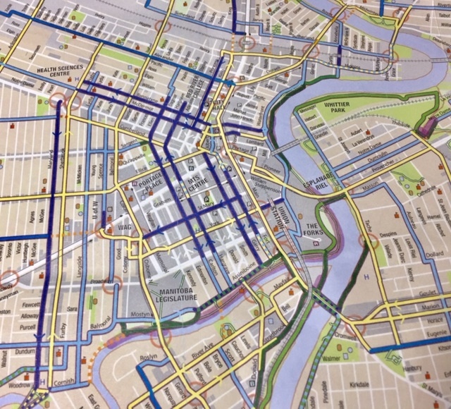 Fast Tracking a Downtown Cycling Grid