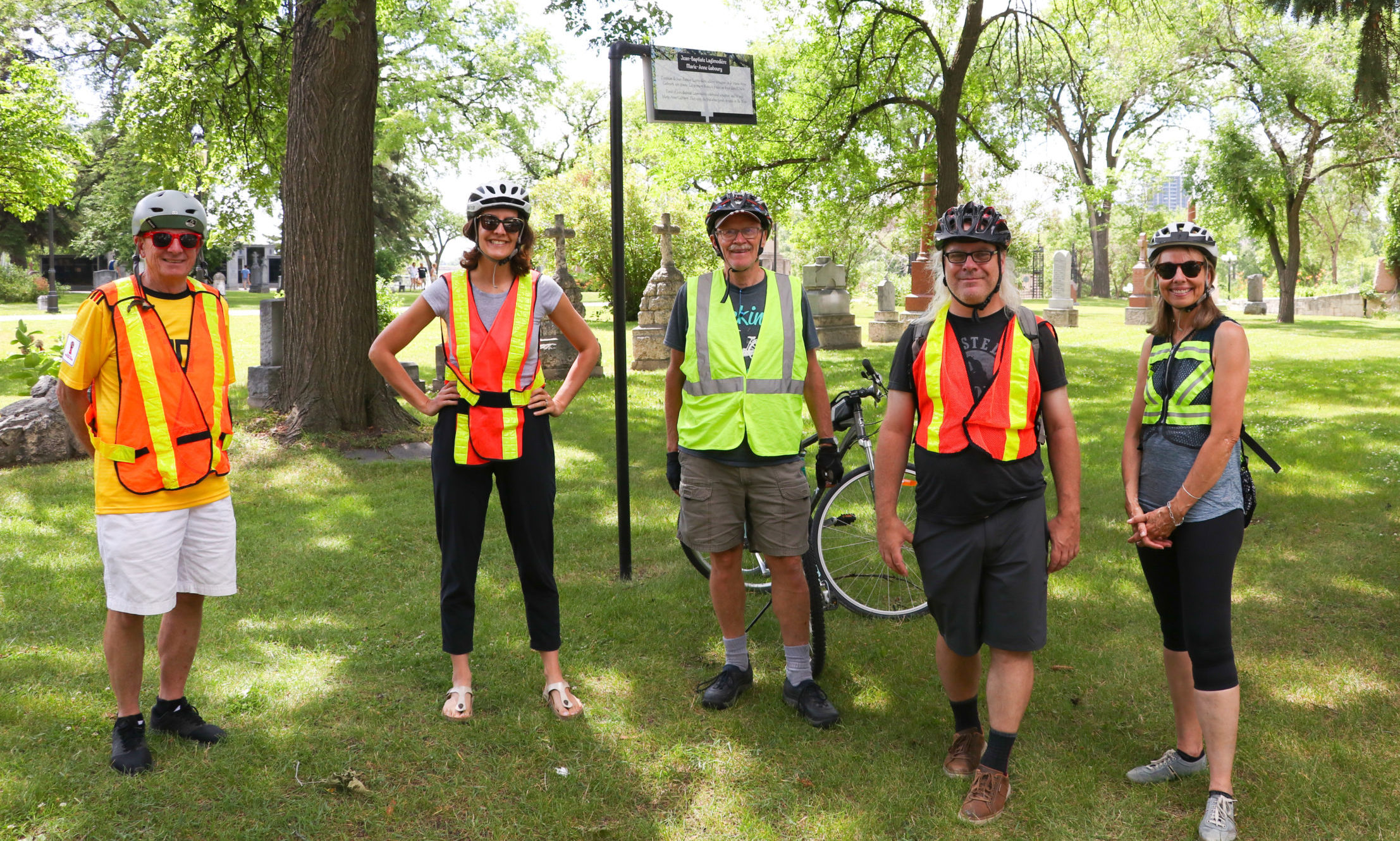 Bike Winnipeg Ride Marshals